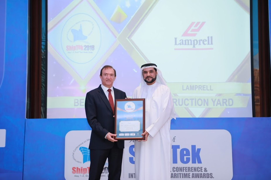 Best Offshore Construction Yard-Lamprell 2