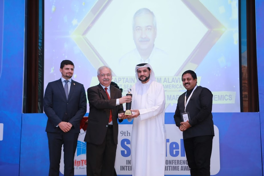 Life Time Achievement Award for Maritime Academics -CAPT. SALEEM ALAVI  1