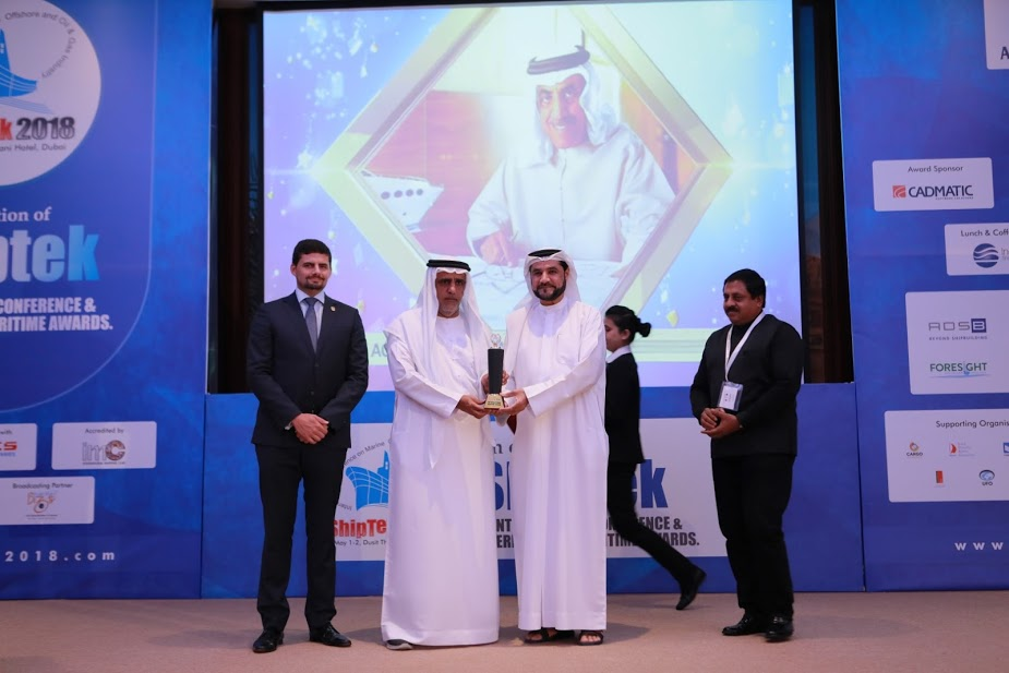 Life Time Achievement Award for Maritime Entrepreneurship -Mohammed Hussain ALSHAALI 1