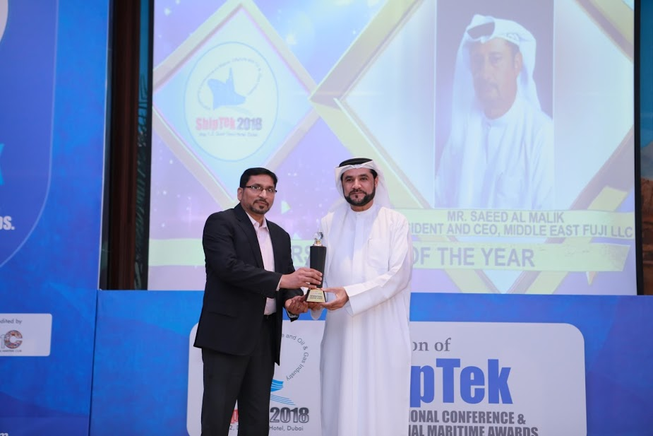 Personality of the Year-Saeed Malik - Middle East Fuji 1